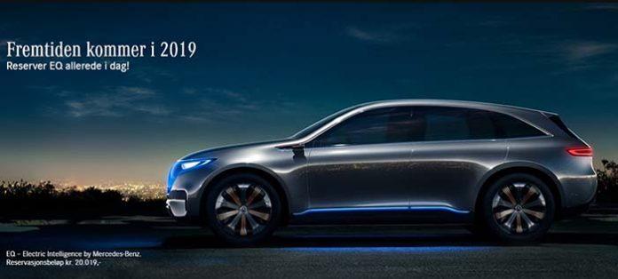 Mercedes-Benz abre las reservas del EQA en Noruega