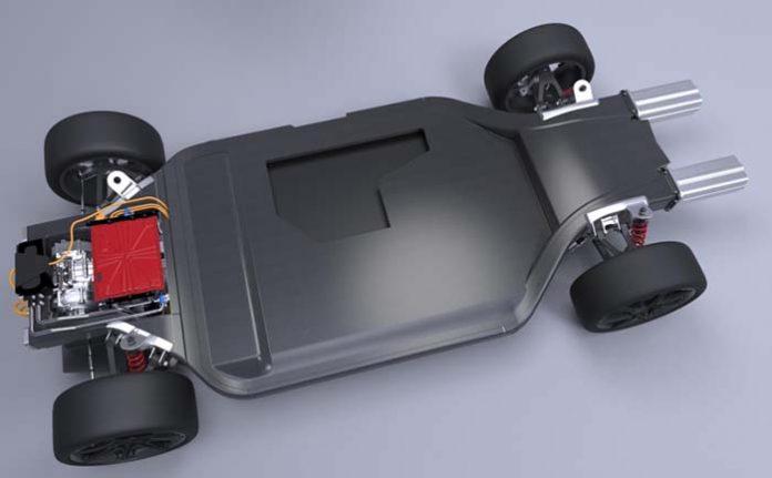 Plataforma para vehículos eléctricos de Williams
