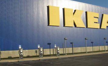Puntos de recarga en aparcamientos de Ikea