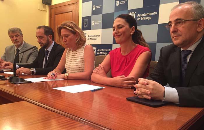 Rueda de prensa de la presentación del II Congreso de Movilidad y Turismo Sostenible de Málaga
