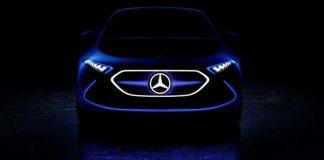 Teaser del Mercedes EQ