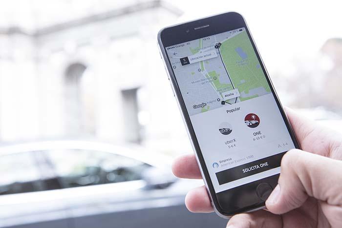 UberONE y UberX, los dos servicios que Uber ofrece en Madrid