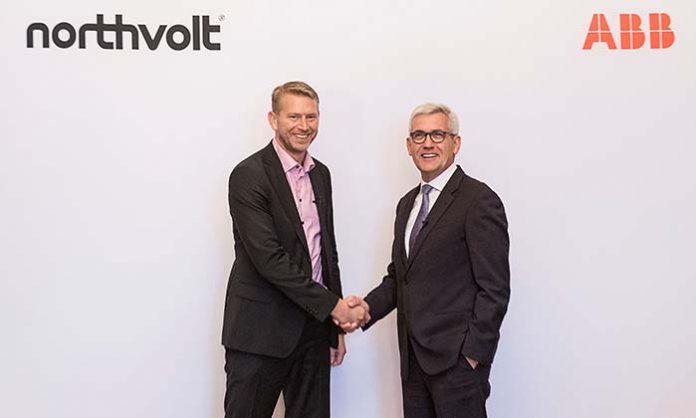 ABB y Northvolt levantarán la mayor fábrica de baterías de Europa