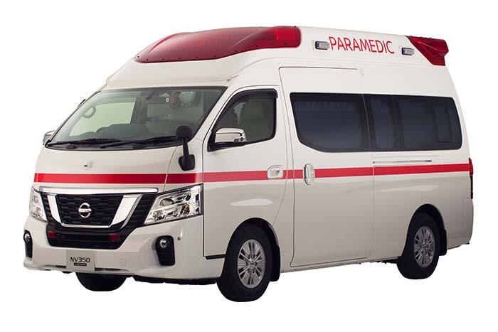 Paramedic, neuvo prototipo de ambulancia de Nissan