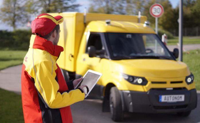 DHL y ZF desplegarán una flota de camiones eléctricos y autónomos de reparto