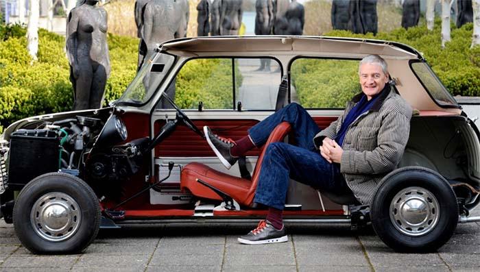 El empresario e inventor James Dyson