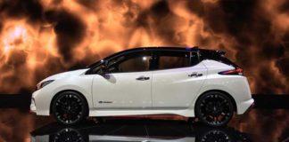El prototipo del Nissan Leaf NISMO se presenta en Tokio