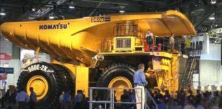El vehículo eléctrico sobre ruedas más grande del mundo, un volquete eléctrico