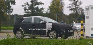 Hyundai Kona eléctrico recargando