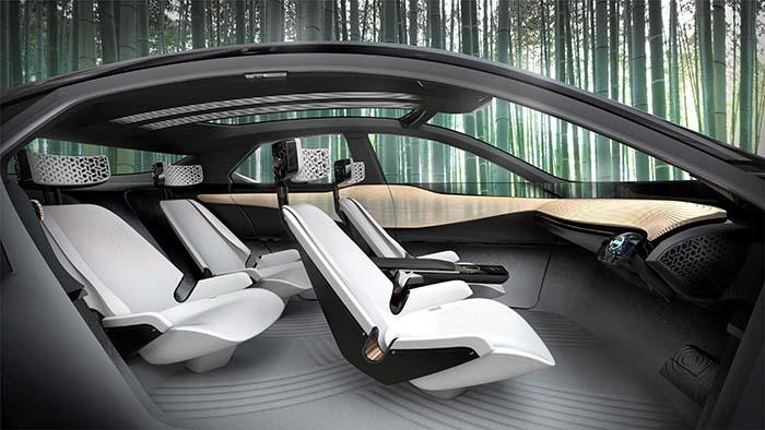 Interior del Nissan IMx