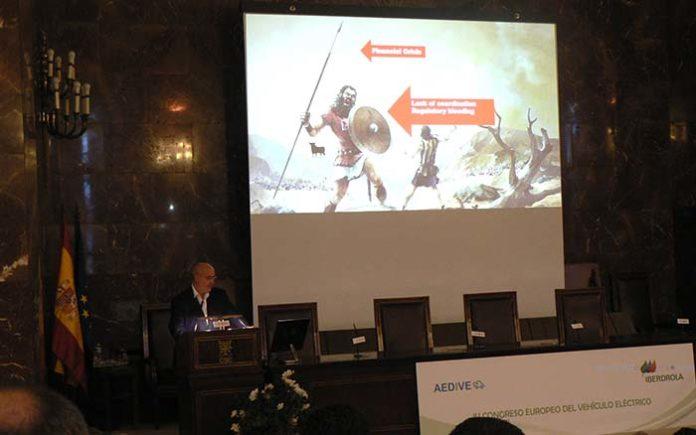 Intervención de Arturo Pérez de Lucia en el CEVE 2017