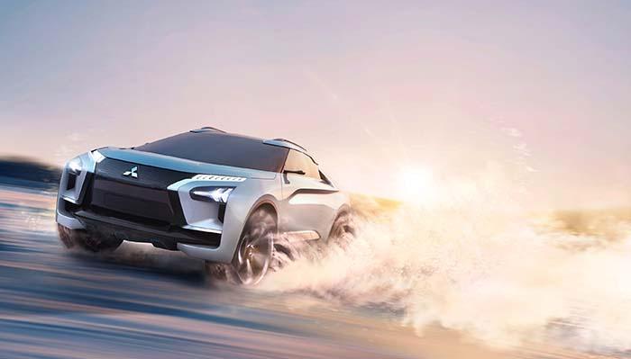Mitsubishi e-EVOLUTION CONCEPT- SUV eléctrico y conectado