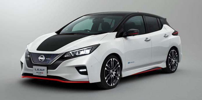 Nissan Leaf Nismo Concept en el Salón de Tokio