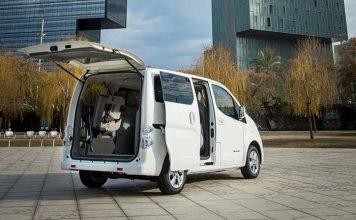Nissan anuncia una nueva batería de 40 kWh para la e-NV200