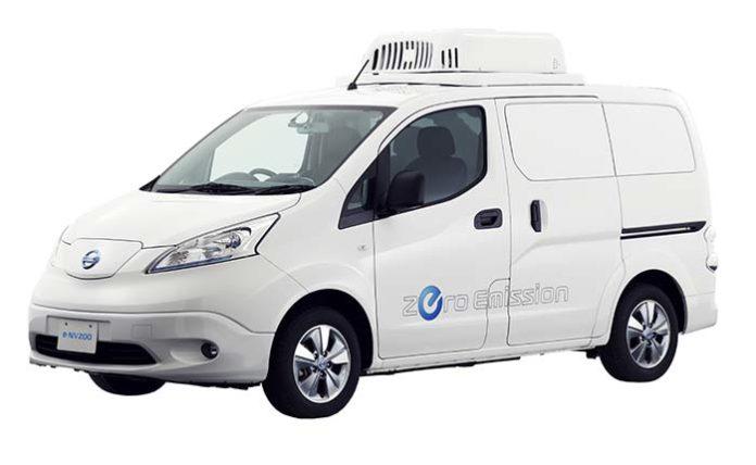 Nissan e-NV200 eFridge con caja refrigerada