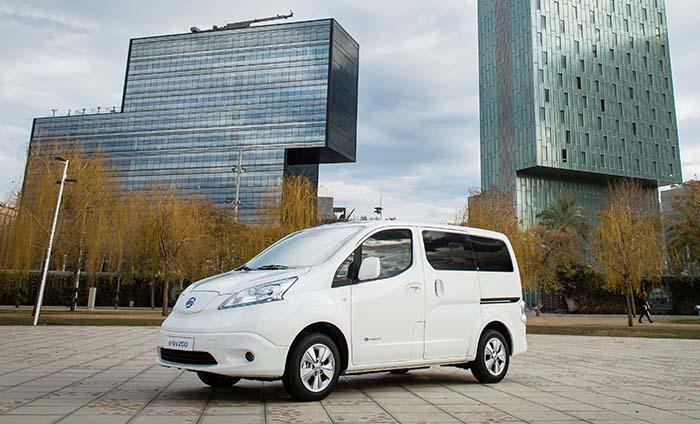 Pressentación de la Nissan e-NV200 con 40 kWh de batería