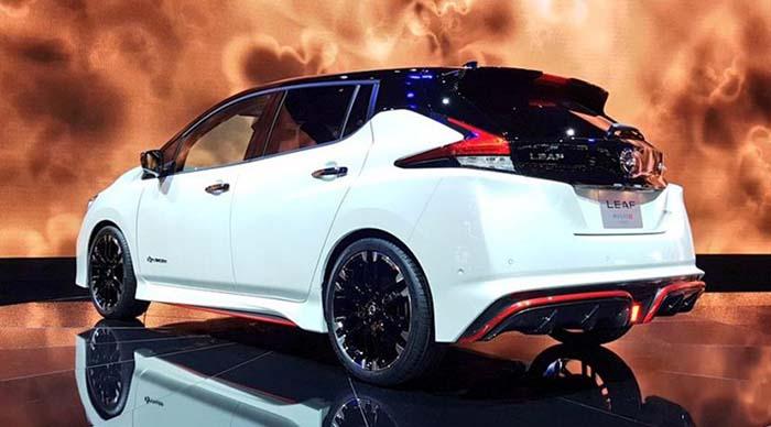 Prototipo del Nissan Leaf NISMO