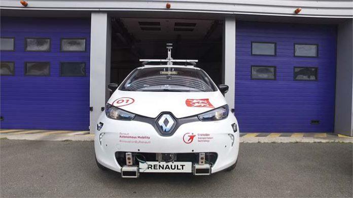 Renault lanza una flota eléctrica y autónoma experimental en Rouen