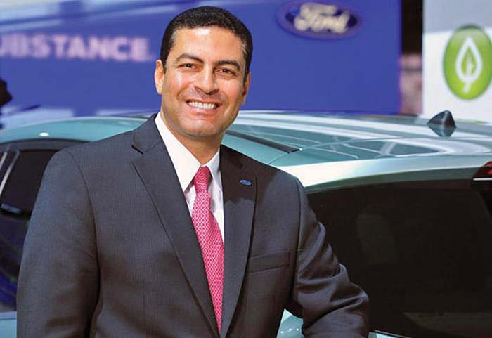 Sherif Marakby vicepresidente de vehículos autónomos y electrificación de Ford