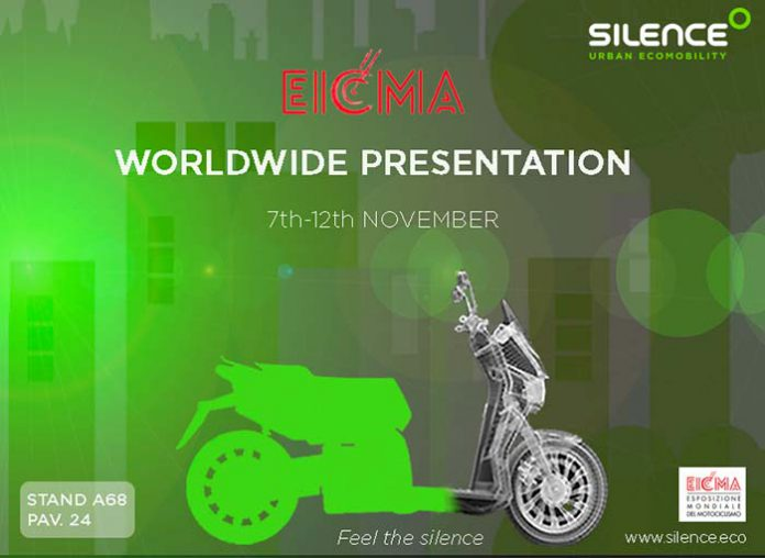 Silence presenta en EICMA su nuevo scooter S01