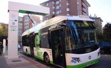La primera línea de autobuses electrificada de España se inaugura en Valladolid