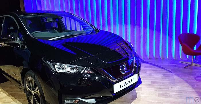 Nissan Leaf Leaf 2018 en el III Foro Nissan de la movilidad