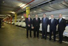 Presentación en el World Trade Centre de los nuevos 25 vehículos eléctricos del Port de Barcelona