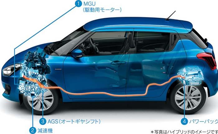 Suzuki Swift híbrido enchufable