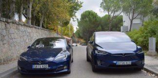 Tesla Model X y Model S