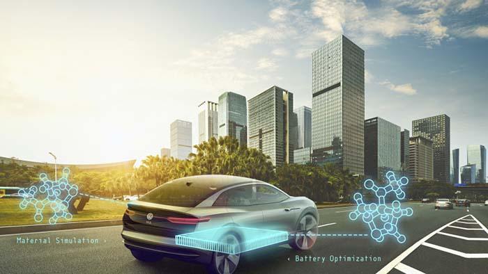 Volkswagen y Google desarrollaran baterías para vehículos eléctricos