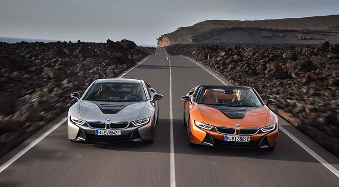 BMW i8 Coupé y BMW i8 Roadster