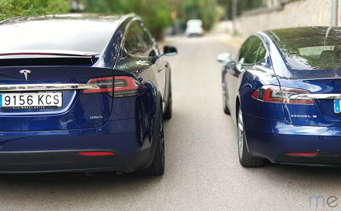 comparamos consumos tesla model s vs model x. Black Bedroom Furniture Sets. Home Design Ideas