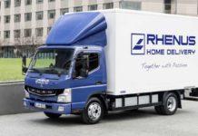Daimler entrega los primeros Fuso eCanter