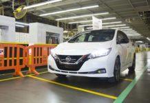 El Nissan Leaf ya se fabrica en Estados Unidos