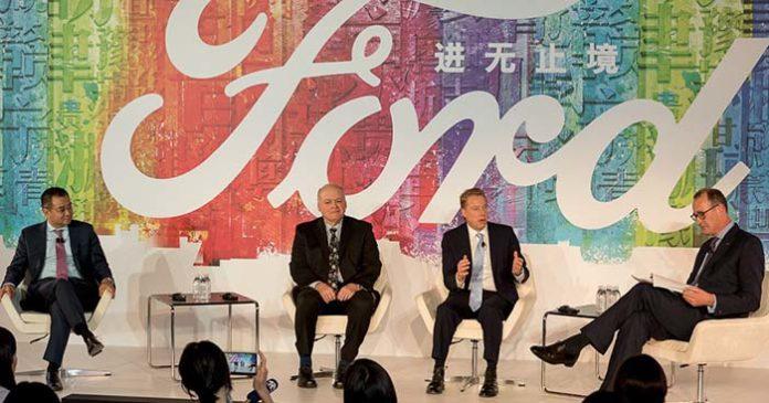 Ford anuncia su estrategia de expansión en el mercado chino