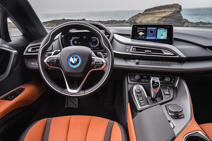 Interior del nuevo BMW i8