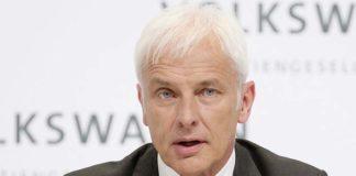 Matthias Müller, CEO de Volkswagen propone eliminar los subsidios al diésel y centrarlos en los eléctricos