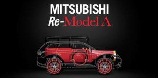 Mitsubishi presenta el Re-Model A sobre plataforma PHEV