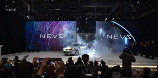 NEVS lanza la producción del 9-3 EV