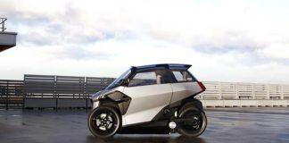 EU-Live presenta un vehículo electrificado de 3 ruedas