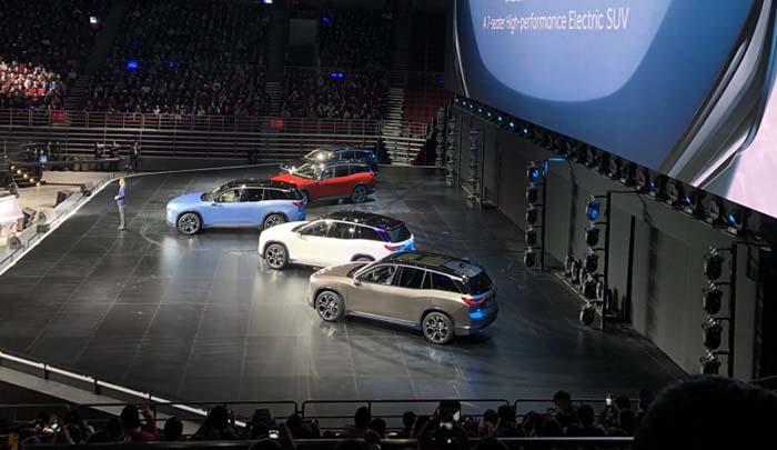 Presentación Nio ES8 en Pekín