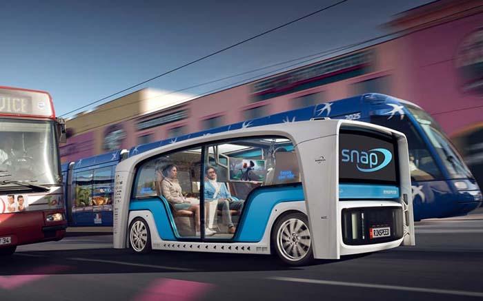 Rinspeed Snap para el transporte de pasajeros