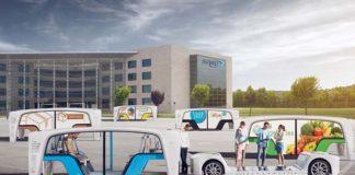 Rinspeed Snap un vehículo eléctrico compartido y autónomo