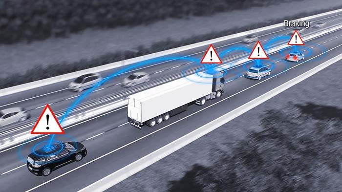 SCOOP es un sistema cooperativo que despliega la conectividad entre vehículos (V2V) y entre vehículos e infraestructuras (V2X)