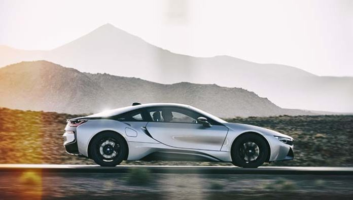 Segunda generación del BMW i8 coupé