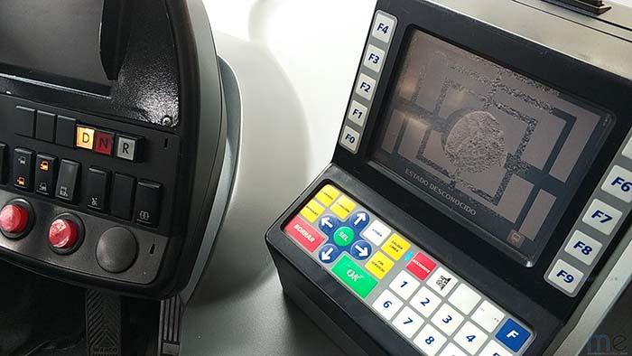 Sistema de guiado para la recarga mediante cámaras