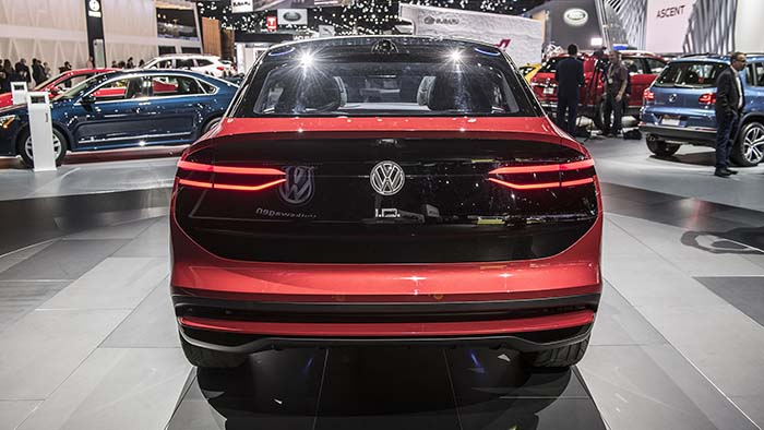 Volkswagen I.D. Crozz en el Salón de Los Ángeles-Foto Drew Phillips