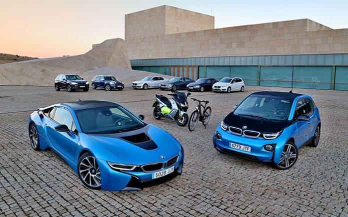 BMW Group líder mundial en ventas de vehículos electrificados
