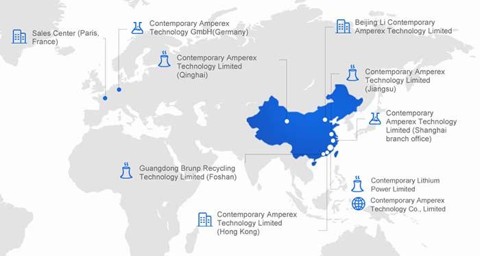 CATL, líder en el mercado chino de baterías, aspira a conquistar el europeo