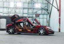 Fisker presenta el prototipo del EMotion en el CES de Las Vegas